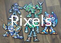 pixels-button