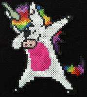 Dabbing-Rainbow-Unicorn-Bead-Sprite-Perler-thumbnail