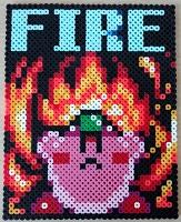 Kirby-Fire-Bead-Sprite-Pixels-thumbnail
