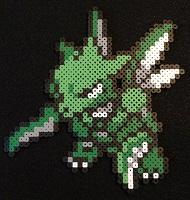 Scyther-Pokemon-Perler-Bead-Sprite-thumbnail